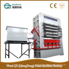 Porta de elevação hidráulica de camada múltipla Prensa de placa quente