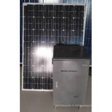 Système d'alimentation solaire 200W hors réseau de l'usine ISO9001