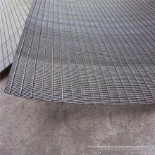 Malha de tela de minério de aço inoxidável frisado