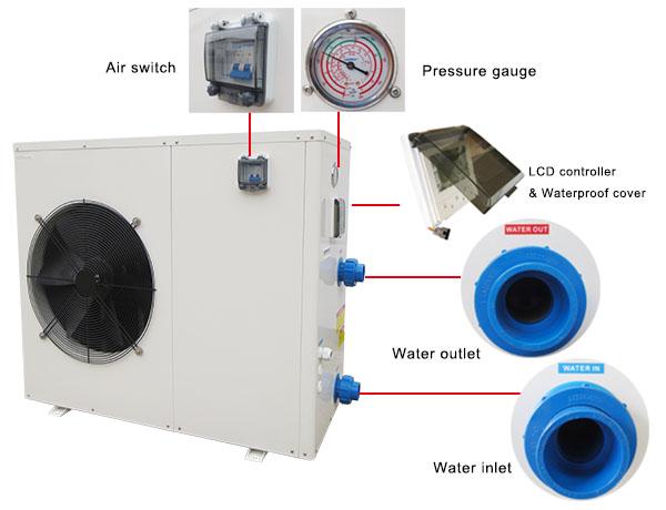 Heat Pump Spa Heater/Cooler