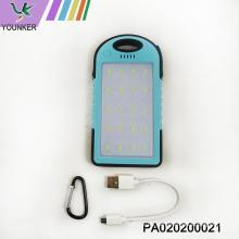 Billetera de carga rápida Li-ion Power Bank 5V con LED