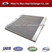 Trocador de calor da aleta da placa / radiador da escavadeira de alumínio / compressor refrigerador de ar