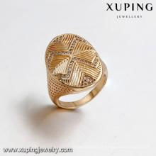 14428 Xuping Jóias 18K Banhado A Ouro Anel De Moda Homem