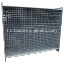 ISO SGS cetified high standard 2.1*2.4m galvanized construction temporary fencing with base for Australia