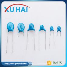 Pass RoHS безопасности высокого качества синий керамический конденсатор