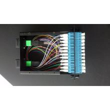 Painel de cassetes de fibra óptica MPO