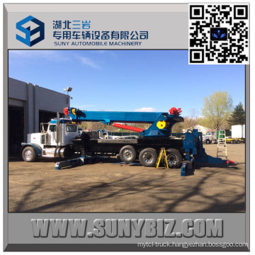 50 Ton Heavy Duty Sliding Rotator Tow Truck Upper Body