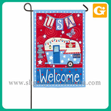 Top Quality Durable Recycle American Garden Flag