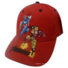 Gorra de béisbol de los niños con el logotipo (KS19)