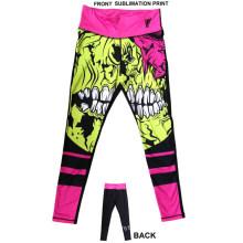 Sublimation Print Sport Pantalon Vêtements de sport