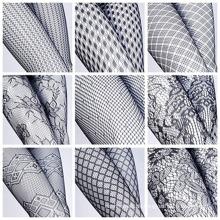 Frauen Sexy Fischnetz Mesh Loch Strumpfhosen Strumpfhose (FN152)