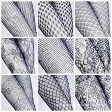 Collants à mailles sexy en résille (FN152) pour femmes