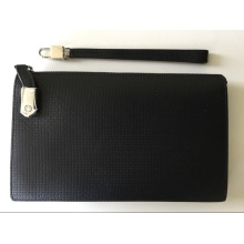 Guangzhou Supplier Designer PU Leather Men Clutch Handbag (Z-110)