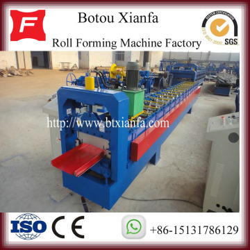 Ghana Style Berdiri Seam Roof Roll Forming Machine
