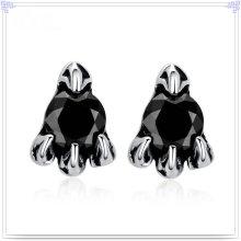 Cristal jóias acessórios de moda brinco de aço inoxidável (EE0216)