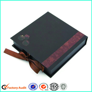 Buku Bentuk Kotak Cavity Black Chocolate