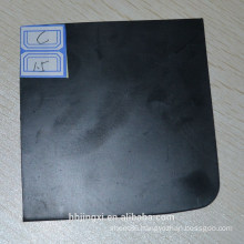 Vulcanized Black SBR Rubber Sheet / Pad