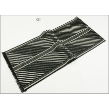 Men′s Womens Unisex Reversible Cashmere Feel Winter Warm Printing Thick Knitted Woven Scarf (SP821)