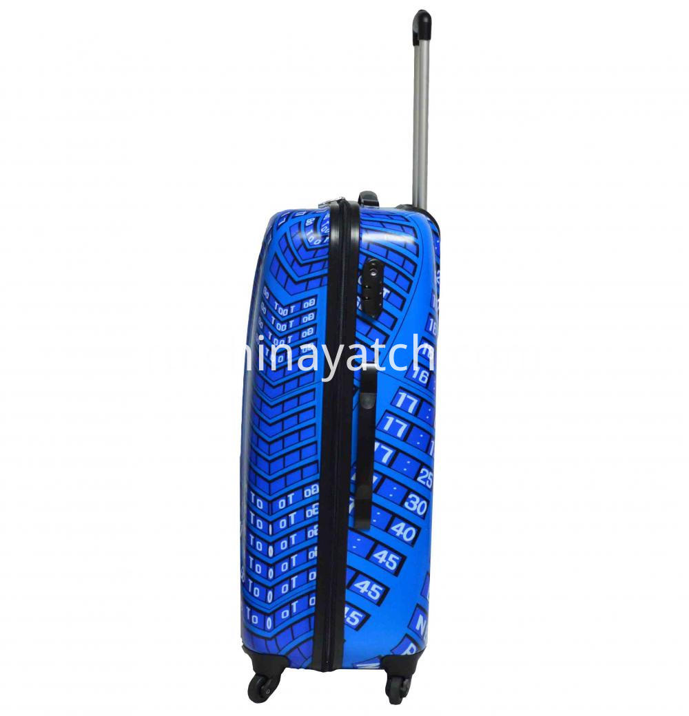 Upright Wheeled Suitcase Luggage