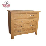 Solid Oak Wooden Drawer Chest/Wood Chest