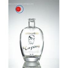 Античный круглой формы старпом супер Кристалл стеклянная бутылка