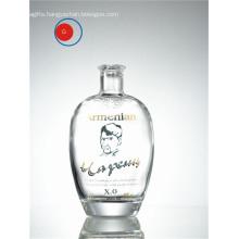 Antique Round Shape XO Super Crystal Glass Bottle