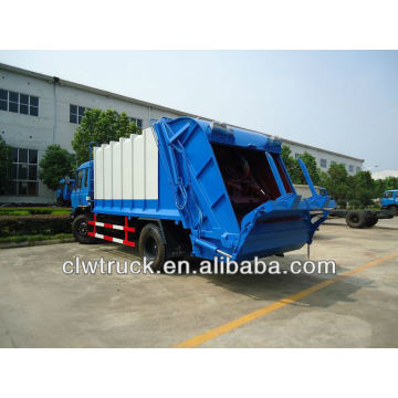12 CBM camiones compactadores de basura