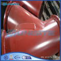 Customized steel branch pipe fittings