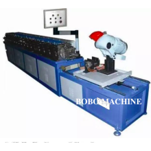 Machine for TDC flange forming