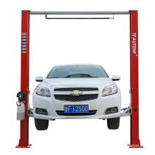 TFAUTENF TF-H35 clear-floor hydraulic 2 post car lift with 3.5 tons lifting capacity