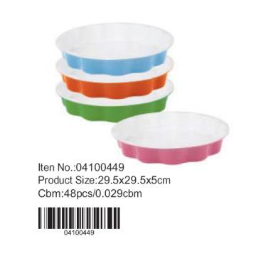 Renkli yuvarlak Pan