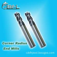 BFL 2/4 Flutes Tungsten Carbide Corner Radius Milling Cutters