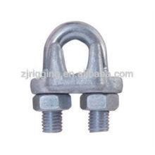 Tipo de clip de cuerda de alambre forjado de caída JIS
