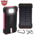 Cargador portátil de banco de energía solar a prueba de agua 10000mAh para iPad (SC-5688)