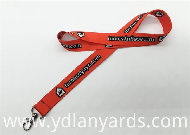 Dye Sublimation Lanyards With Background