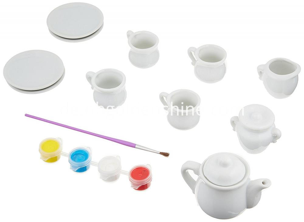 Colorful Your Own Mini Tea Set