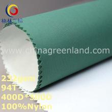 Tela maçante de tingidura de Oxford do tafetá de nylon liso para a matéria têxtil de Sportwear (GLLML287)