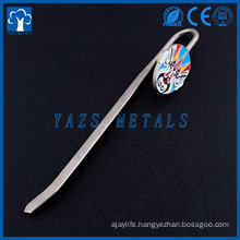 cheap custom metal facial makeup bookmark for souvenir