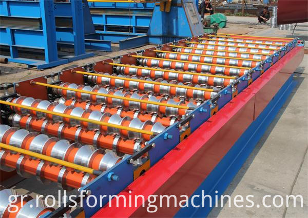 Automatic Galvanized Tile Roofing Roll Forming Machine