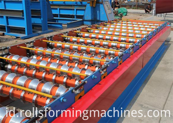 Corrugated Sheet Machine