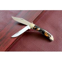 Cuchillo doble de las láminas de la manija de la resina (SE-0478)