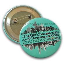 Emblema de crachá de impressão Emblema de estanho Corlorful (GZHY-MKT-025)
