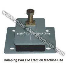 Elevator Traction machine damping pad