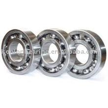 Rodamientos de acero inoxidable con rodamientos rígidos de bolas 6200 series