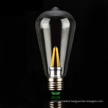 4W 6W E27 E26 B22 St64 Filament LED Bulb Light