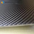 Abrasion resistant 3k carbon sheet matte