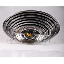Nice Design Stainless Steel Serving Tray