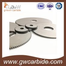 Carboneto de tungstênio viu o uso da lâmina para o disco de corte