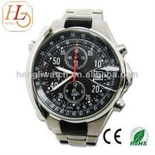 Reloj automático de moda, hombres Relojes de acero inoxidable 15027