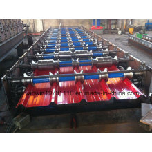 Gewellte Stahlwellen-Profil-Überdachungs-Blatt-Rolle, die Maschine bildet
